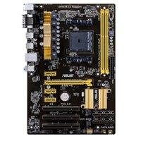Wholesale ASUS A58 C uses AMD A58 chipset integrated Realtek ALC887 channel audio chip a PCI E X16 graphics slot
