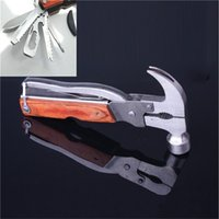 Wholesale Hot sell Multi function Camping Tool knife field Auto rescue hammer Top quality