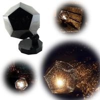 al por mayor proyector de láser noche-2015 Creative asombroso estrella Astro lámpara de proyector de láser, de tercera generación cosmos proyector científico llevado luz DIY llevó la luz de la noche