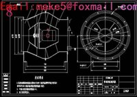 Wholesale GY4 NO25D type boiler pass Fan Drawings Full Machining drawings CAD