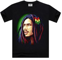 african male clothing - Trendy printing Bob Marley African star popular d shirt sleeve T shirt men s clothing male autumn tees tops cotton
