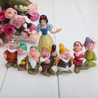 Wholesale Retail Seven Dwarfs figures Snow white Figures PVC figures Doll toys Set of