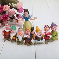 Wholesale Retail Seven Dwarfs figures Snow white Figures PVC figures Doll toys Set of