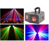Wholesale hot Music Active Dual Rotating LED Stage Lighting Club DJ Party Disco Lights dhl