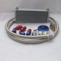Wholesale D angleterre mocal silver oil cooler kit oil radiator an8 interface order lt no track