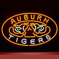 auburn tigers shop - 17 quot x14 quot New Auburn Tigers Real Glass Neon Light Signs for Home Shop Store Beer Bar Pub Restaurant Billiards Shops Display Signboards