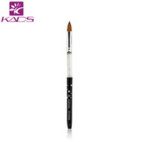 Wholesale Hot sale black Kolinsky Sable Brush professional nail art tool brushes kolinsky acrylic nail brush for nail painting