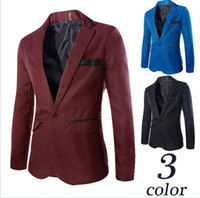 Wholesale Hot sale High Quality New Coming Causal Men Blazers Single Breasted England Fashion blazers Suits For Men Plus Size XL new arrive