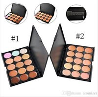 skin cream - 15 Colours Professional Facial Concealer Cream Foundation Makeup Camouflage Concealer Palette Hot Sale
