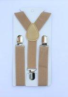 Wholesale Kahki Khaki Suspender For Kid Fashion New Design Pieces