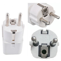 Wholesale 1 x Universal US UK AU to EU European AC Power Plug Travel Wall Adapter Converter order lt no tracking