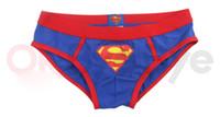 Wholesale Superman Sexy Soft Mens Underwear Shorts Mens Boxers Underpants Cotton Pants UP0015