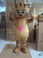 Wholesale Mascot Costume Adult Character Costume mascot As fashion freeshipping Coffee cat