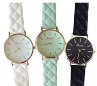 battery crust - 2015 Fashionable Women Wristwatch Pretty Leather Watch With Alloy Crust Best Sellers In Korea High Quality
