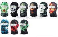 assorted headgear - Athletic Lycra Biker Motorcycle Face Mask Headgear Headscarf Skull Balaclava Assorted Styles