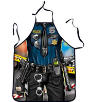 Wholesale Factory direct supply European and American fashion personality Funny and creative chef aprons sexy goddess police a variety of patterns