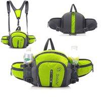 Wholesale Multifunction Outdoor Backpack Waterproof Nylon Colors Men Travel Sport Waist Bags Mountaineering Bag Hiking Camping Rucksack