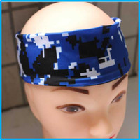 Lycra baby sweatbands - 2016 Baby Headbands Children Hair Accessories Kids Hair Girls Headbands Baby Hair Accessories Infant Headbands camo headbands