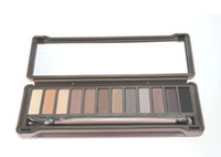 best natural beauty - 2016 Nude Color Smoky Shadows Hot Selling Best makeup Eyeshadows Beauty Making Eyes Makeup Ladies Cosmetics Makeup Set Easy Natural Eyes