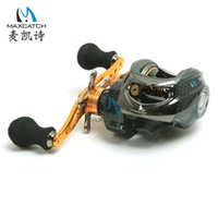 Wholesale Maxcatch Baitcasting Fishing Reels Right handed BB Gear Ratio Fishing Tackle