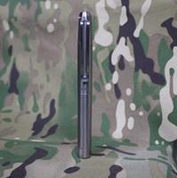 Wholesale EDC Gear Self Defense TC4 Titanium alloy Tactical Pen Outdoor attack changeable heads survival pen CNC Super hardness P