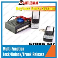 Wholesale New item Keyless entry system with LED lamp amd nice remote controller Car window closer Car alarm system