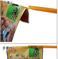 Wholesale 500sets Magic Bag Sealer Stick Unique Sealing Rods Great Helper for Food Storage