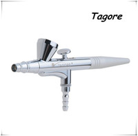 airbrush makeup machines - TG135B Hot Sale mm Gravity Feed Single Action Cosmetics Facial Makeup Airbrush machine