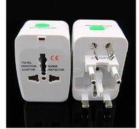 Wholesale New US UK AU EU TRAVEL POWER ADAPTER PLUG CONVERTER Universal adapter plugs free