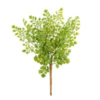 gingko biloba - New Hight Quality Lovely Gingko Biloba Fake Artificial Plant Floral Leave Foliage Office Decoration