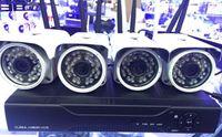 achat en gros de kits de caméra dvr-IMMENS H.264 5.8G sans fil 1080P WIFI 4 millions de caméras réseau HD réseau DVR NVR Kit