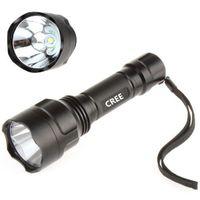 beam waterproof flashlight - HOT new Lumen CREE LED Waterproof Super Bright Beam Flashlight Torch Lamp