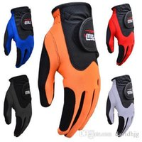 golf gloves leather - golf gloves male sheepskin slip resistant color gloves golf gloves men leather brand name left hand