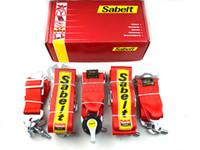 Wholesale Sabelt Point Red Seat Belt Harness Homologation Racing Satefy