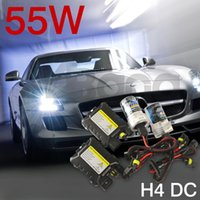 Wholesale 55W Xenon HID Kit Car Headlight Bulbs Slim Ballast H1 H3 H4 H7 H8 H9 H11 H16 K K K K K