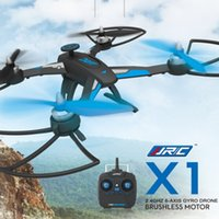 Wholesale High Quality JJRC X1 With Brushless Motor G CH Axle RC Quadcopter RTF MODE2 Left Hand Throttle