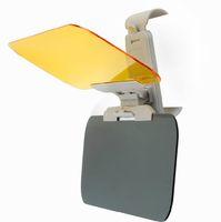 auto shade - Auto sunshade prevent dazzle multi purpose mirror day and night vehicle car sun visor mirror shading eye car solar protection