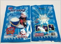 fake snow - Hot Magic Prop DIY Instant Artificial Snow Powder Simulation Fake Snow for Party Christmas Decoration for children baby gift with retail bag