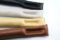 Cream-colored automotive leather seats - Leak proof pad seat spacer Leakage protection mat automotive supplies modified special A