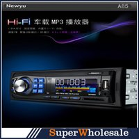 car mp3 - 12V Car Stereo MP3 Player Car Audio FM Radio USB In Dash Remote Control USB Port Auto Audio Car MP3