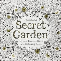 abstract coloring books - 2015 Hot Sell Secret Garden Book English version Decompression Artifact Secret Garden Coloring Book by Johanna Basford