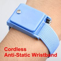anti static straps - Cordless Wireless Anti Static ESD Discharge Cable Band Wrist Strap Slim New NVIE