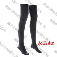 adult leggings - Factory direct patent leather leggings socks Liangpi bound bondage pants flirt adult black socks