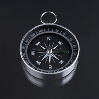 Wholesale Good quality Mini Aluminum Camping Compass Hiking Hiker Navigation Hot Selling Popular