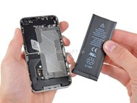Cheap For Apple iPhone 4S Original Battery 1430 mAh high Capacity Rechargeable Lithium Ion Polymer Battery For iphone 4s