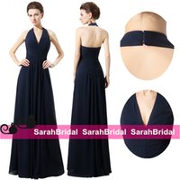 backyard gardens pictures - 2016 Boho Chic Long Navy Blue Bridesmaid Dresses with Open Back Corset for Sale Garden Backyard Cheap Bridal Party Gowns Maid of Honor Wear