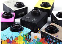 Wholesale 2016 Waterproof Mini Sports DV HD P MP M Camera Camcorder Car DVR Recorder Outdoor Underwater Sport Bike Helmet SJ4000 Cameras D1231