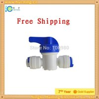 Wholesale inch hand valve quick adapter connector plastic valve water filter valve