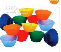FDA cupcake soap - Cake Soap Chocolate Mold Silicone Muffin Cup Liner DIY Fondant Cake Sugarcraft Plunger Cutter