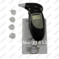 Wholesale KeyChain LCD Digital Breathalyzer Alcohol Breath Analyzer Tester Attachment